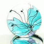 Pocket Mirror Stunning Blu..