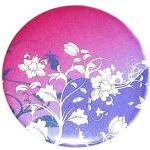 Pocket mirror Purple Floral..