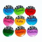 Pinback button badges - Zeb..