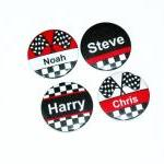 Pinback button badges - Rac..