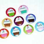 Pinback button badges - Cup..