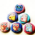 Fridge magnets - Set of 6 O..