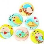 Fridge magnets - Sweet Bird..