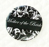 Pocket mirror Mother of the Bride