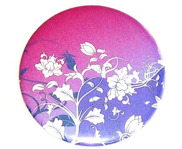 Pocket mirror Purple Floral Pocket mirror
